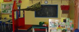 Childcare pre-school classroom