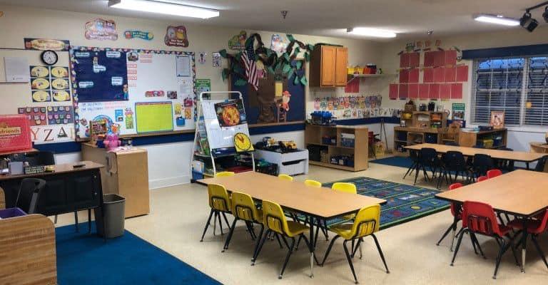 Oxford Trails Academy Pre-K Classroom 4