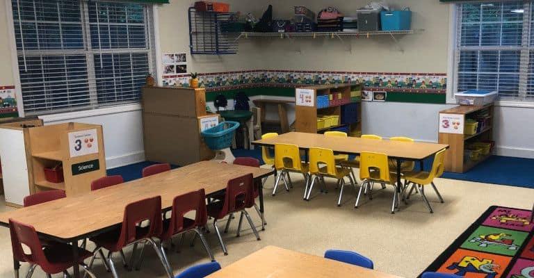 Oxford Trails Academy Preschool 2 Classroom 2